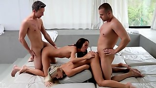 Dido Angel & Gina Devine - Group Fucking Session - dido angel