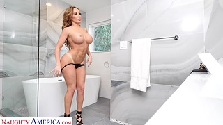 Ebullient having it away with fit cougar neighbor Richelle Ryan