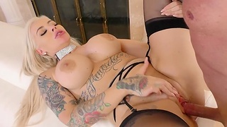 Take charge cosset Andy Adams gets her arms on a big delicious dick