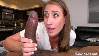 Hardcore fucking with big boobs massage expert Skyler Luv