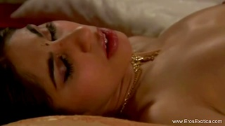 Going Down On A Sweet Indian Stunner While Being Together