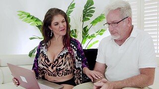 Shaved pussy wife Coralyn Pearl of great price enjoys getting fucked around missionary