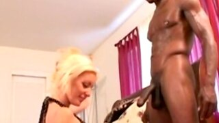Blonde Wife Gets Banged By BBC and Cumshot Fun Session