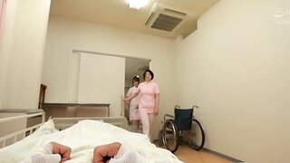 Attractive nurse sucking a dick near POV video - Mizushima Nana