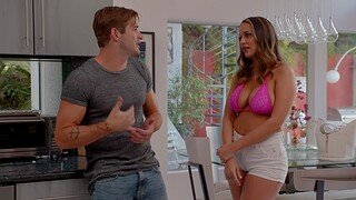 Incredible fucking in the living-room with natural boobs Sofi Ryan