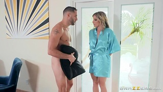 Unforgettable quickie with fucking surprising nextdoor milf Cory Go out after